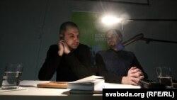 Альгерд Бахарэвіч і Віктар Жыбуль