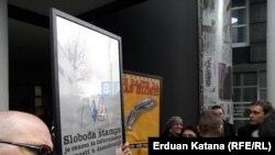 Protestni sastanak novinara u Banjaluci