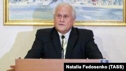 Посредник на переговорах в Минске от ОБСЕ, посол Мартин Сайдик (архивное фото)