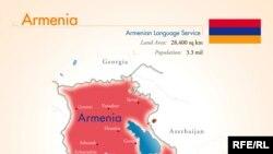 Ermənistanın xəritəsi