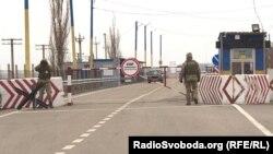 Админграница между Крымом и материковой частью Украины, КПВВ «Каланчак»
