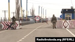 КПВВ «Каланчак» на админгранице с Крымом, архивное фото