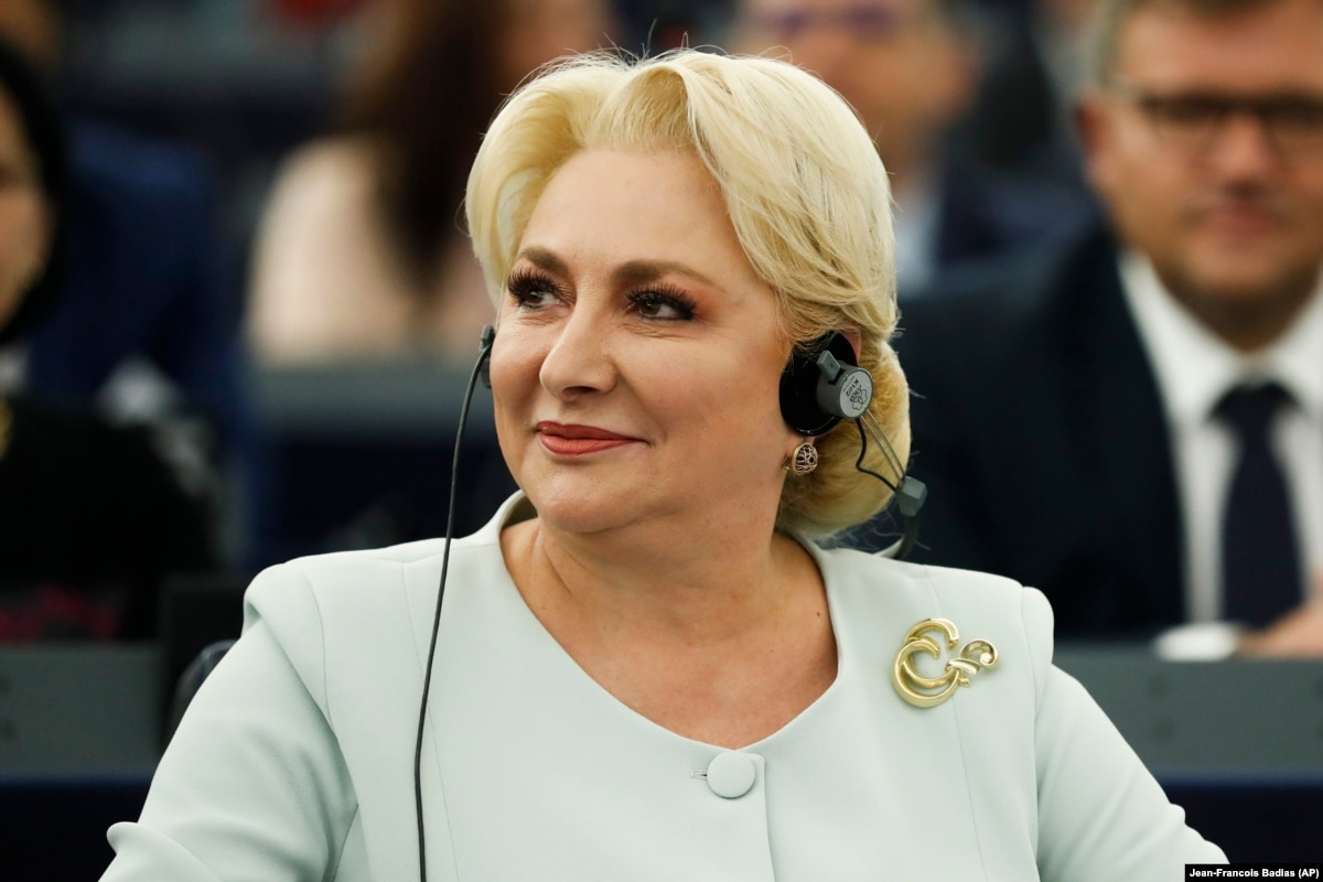Romanian Prime Minister Dancila To Challenge Incumbent Iohannis For Presidency