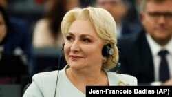 Romanian Prime Minister Viorica Dancila