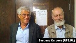 Леонид Гозман и Сергей Шаров-Делоне в суде