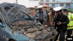 Pamje pas një sulmi të mëparshëm në Afganistan