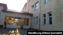 Здание больницы в Узбекистане.