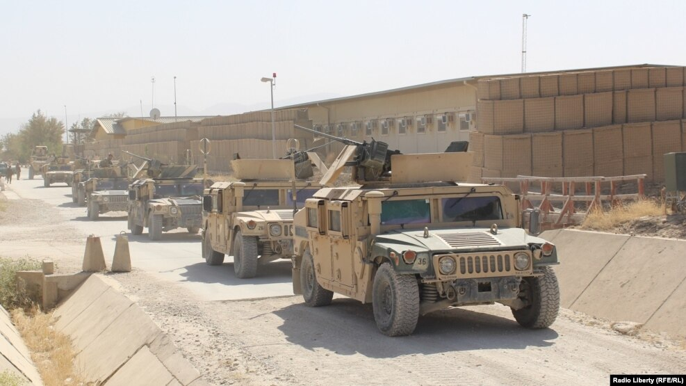 13 Afghan Troops Killed In 'Insider' Attack