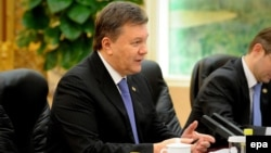 Ukrainian President Viktor Yanukovych held talks this week in China and Russia.
