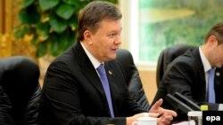 Ukrainian President Viktor Yanukovych held talks this week in China and Russia.