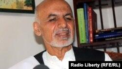 Ашраф Гани, бывший министр финансов.