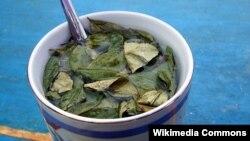"""Чай из листьев коки, """"Мате де кока"""", Боливия"""