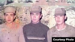 Участники ирано-иракской войны: Катар Шадкам, Сакит Шадкам, Кайын. Фото из семейного альбома.