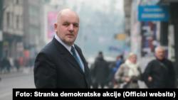 Amir Zukić, bivši generalni sekretar SDA