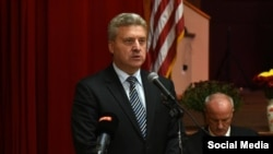 Macedonia President Gjorge Ivanov (file photo)