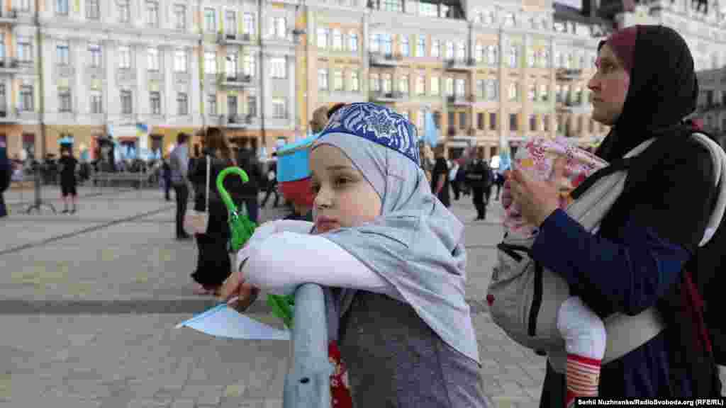 У Києві відбулися заходи, приурочені до Дня пам'яті жертв депортації кримськотатарського народу