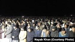 Thousands of mourners participated in the funeral of Pashtun Tahafuz Movement leader Atman Luni late on February 3.
