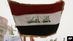 تظاهرة في بغداد تطالب بتنفيذ حكم الإعدام بحق مدانين.