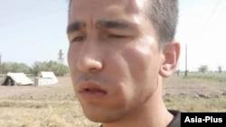 Абдулло Гурбати после нападения в Хуросонском районе