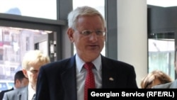 Ministri i Jashtëm i Suedisë, Carl Bildt.