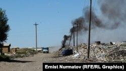 Бишкектеги таштанды талаасы