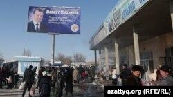 Реклама билбордларидан сайловолди кампанияси давомида Шавкат Мирзиёев ҳам фойдаланган.