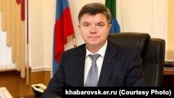 Спикер Законодательной думы Хабаровского края Виктор Чудов
