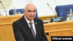 Махмадтоир Зокирзода, спикер нижней палаты парламента Таджикистана.