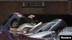 """Последствия шторма """"Сэнди"""" на Манхэттене"""