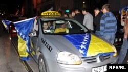 Many Bosnian fans are against the soccer federation's organizational structure