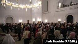 Minsk, slujba de Înviere, 19 aprilie 2020