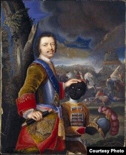 Густав фон Мардефельд. Петр, русский царь. 1707 год.