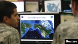 АҚШ әскери әуе күштері ғарыштық басқару командасының қауіпсіздік орталығы. Көрнекі сурет.