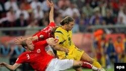 Счет в матче между Украиной и Швейцарией был открыт только в серии пенальти