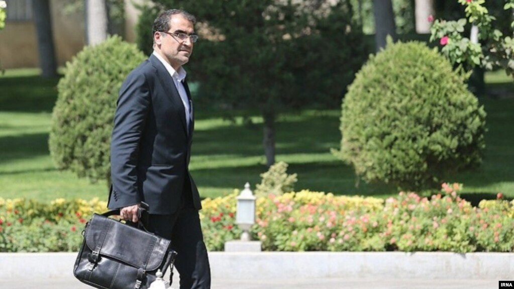 Former health minister in Rouhani administration, Hassan Ghazizadeh Hashemi, who resigned on budget issues in January 2019.
