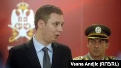 Aleksandar Vučić i Ljubiša Diković