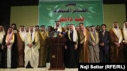 "شيوخ عشائر ضد ""داعش"" في النبار"
