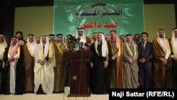 """شيوخ عشائر ضد تنظيم """"داعش"""""""