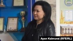 Проректор по учебной части Казахского национального аграрного университета Бахыт Халыкова.