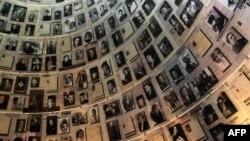 La memorialul Yad Vashem de la Ierusalim