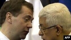 На переговорах Дмитрий Медведев и Махмуд Аббас обсуждали перспективы возобновления израильско-палестинского мирного диалога