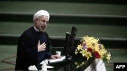 Президент Ирана Хасан Роухани. Тегеран, 15 августа 2013 года.