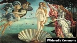 15-ci əsr italyan rəsssamı Sandro Botticelli-nin ilahə Veneranı təsvir edən bu şedevri Florensiyada Uffizi qalereyasında saxlanır.