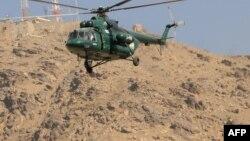 Pamje e helikopterit Mi-17 të prodhimit rus