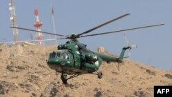 Ми-17 вертолёти.