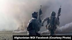 آرشیف، تمریتان نظامی نیروهای افغان