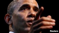 Президент США Барак Обама. Вашингтон, 4 декабря 2013 года.