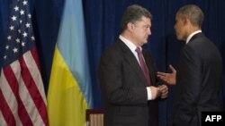 Петро Порошенко та Барак Обама. Ілюстраційне фото