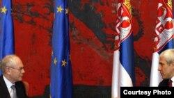 Ван Ромпуј денеска во Белград
