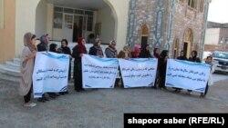 خبرنگاران زن در هرات